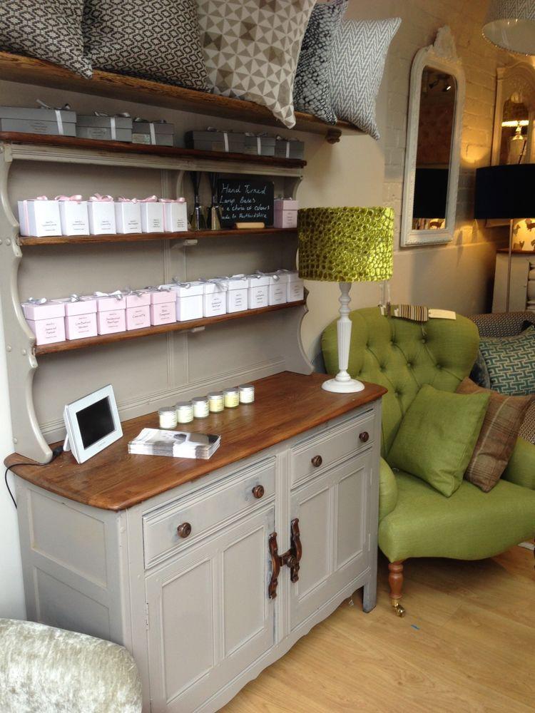 Ercol Vintage Welshman Dresser Painted In Farrow Ball French Grey French  Grey For Welsh Dresser In ...