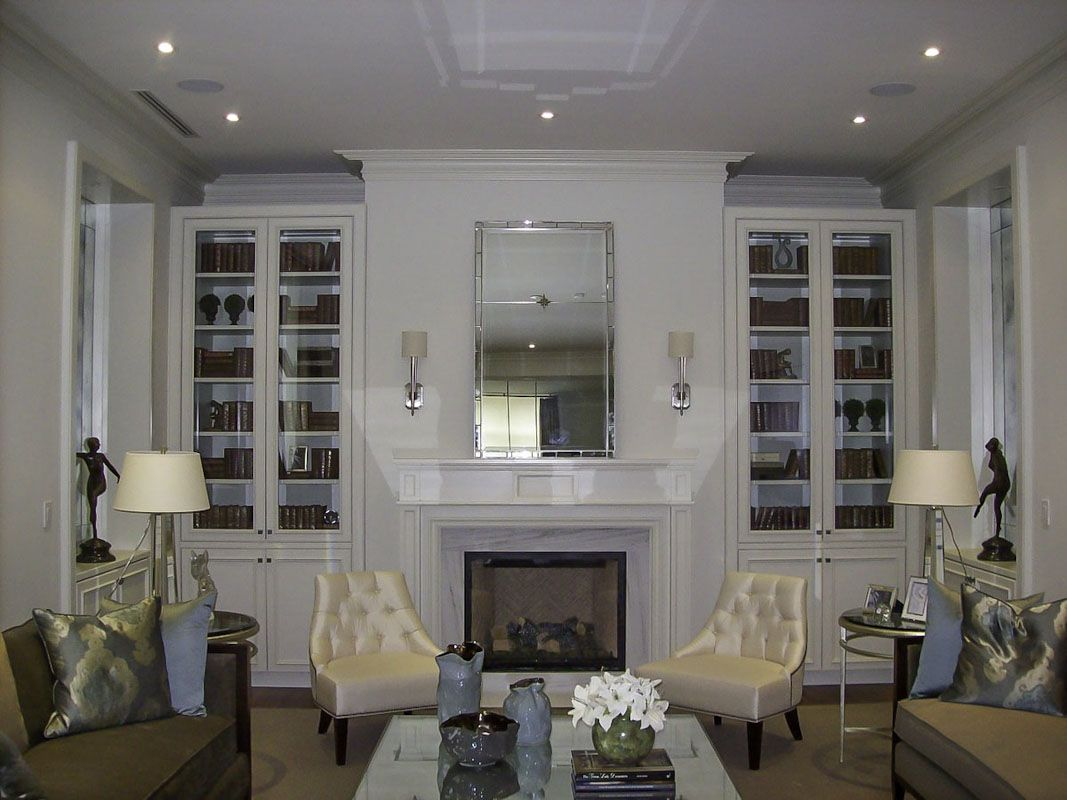 Custom bookcases custom built in custom cabinetry home