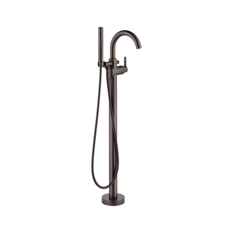 T4759 Rbfl Trinsic Contemporary Floor Mount Tub Filler Trim