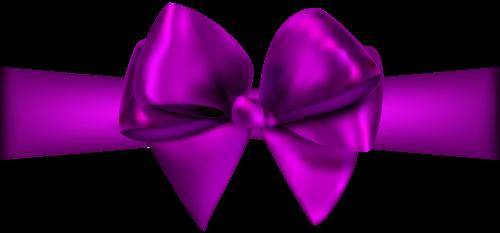 Purple Ribbon With Bow Png Clip Art Clip Art Purple Ribbon Bows