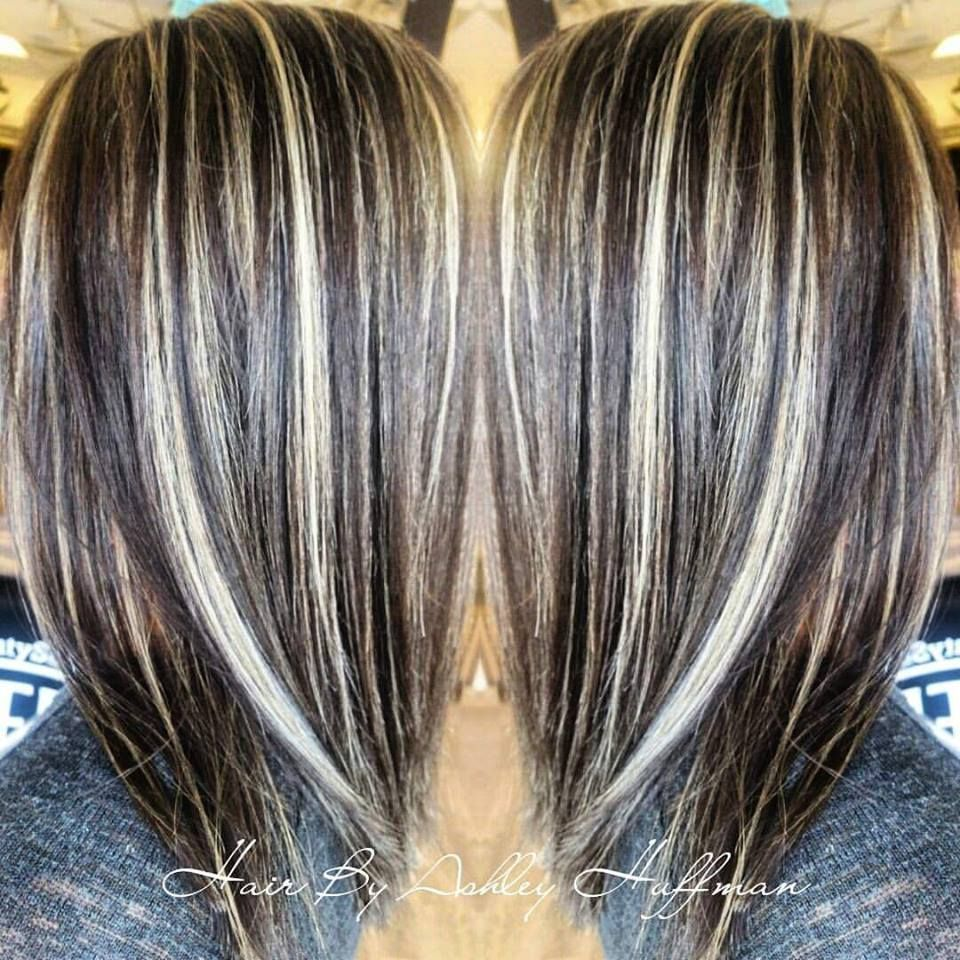 Image Result For Dark Brown With Cream Highlights Honey Highlights