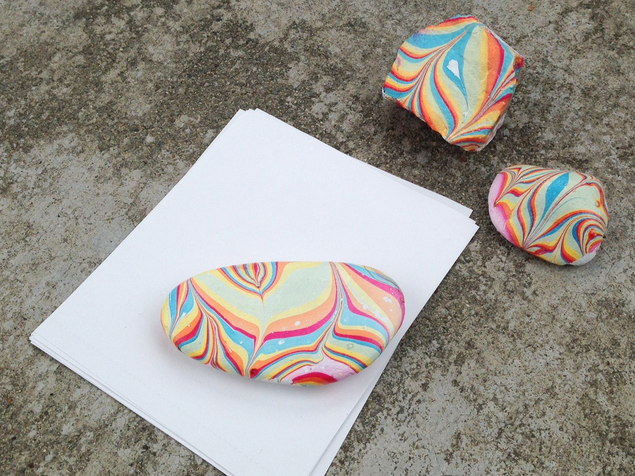 These Pretty Rainbow Rocks Are Perfect For Brightening Up Your Desk