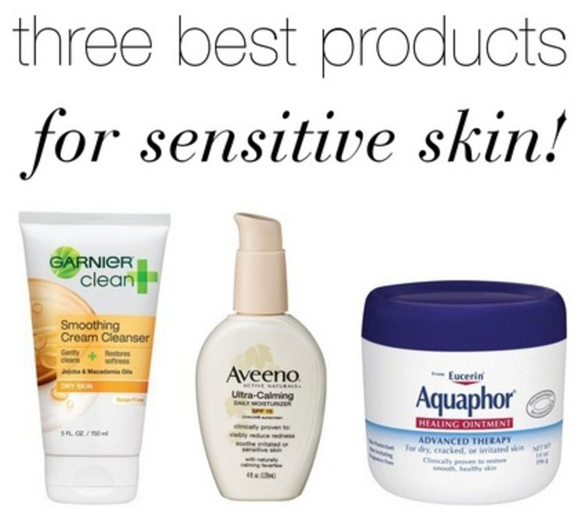3 Must Have Skincare Products For Sensitive Skin Sensitive Skin Top Skin Care Products Cheap Skin Care Products