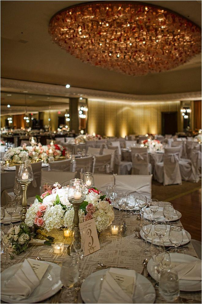 Blush Orange Silver Gold Wedding Inspiration Flowers Decor