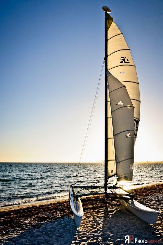 Siesta Key Florida Catamaran Sailing Catamaran Beach Trip