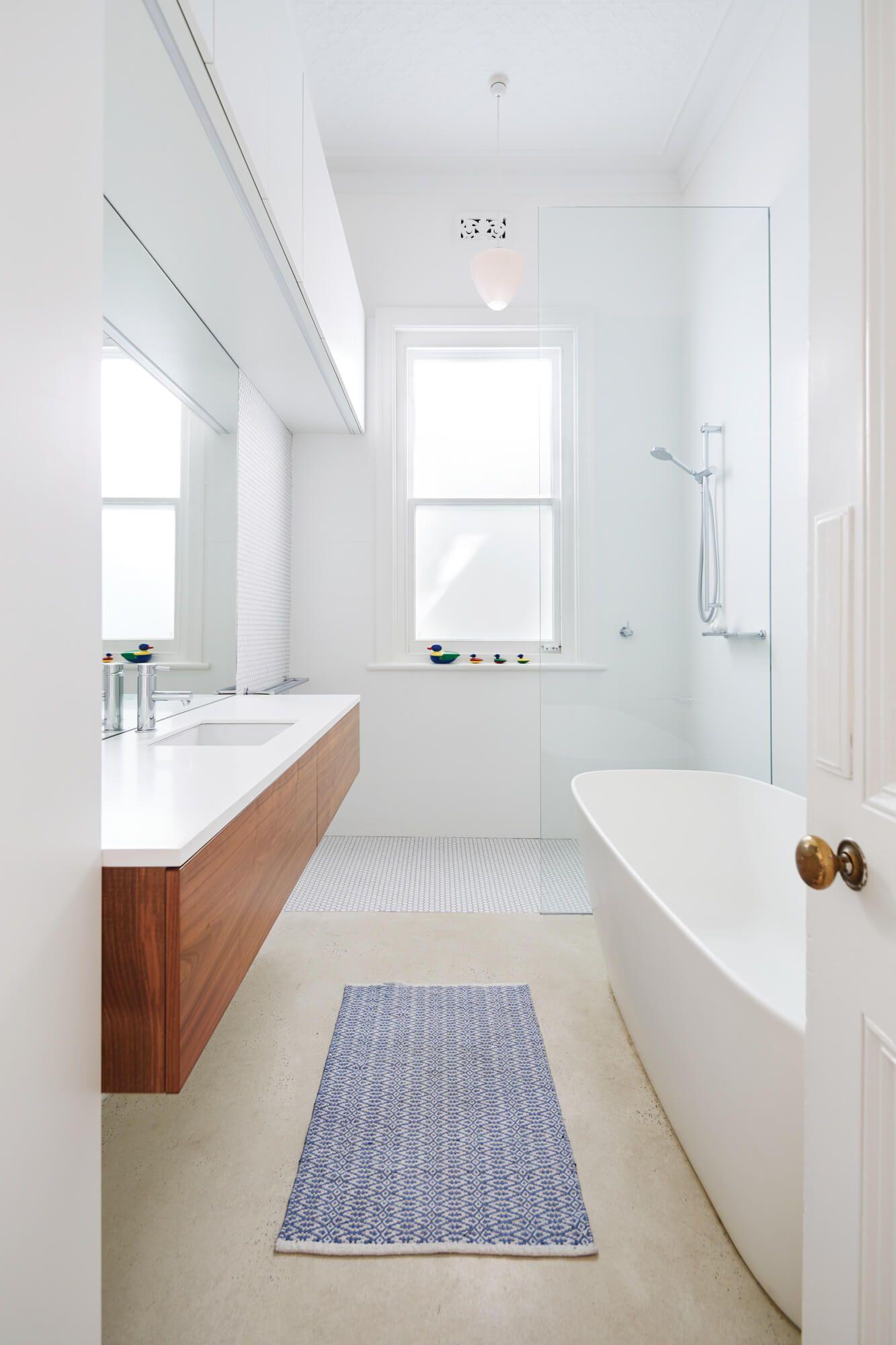 Australian Federation Bungalow Home Renovation Says Goodbye To Outdoor Toilet Bathroom Renovations Bathroom Renovation Home Renovation