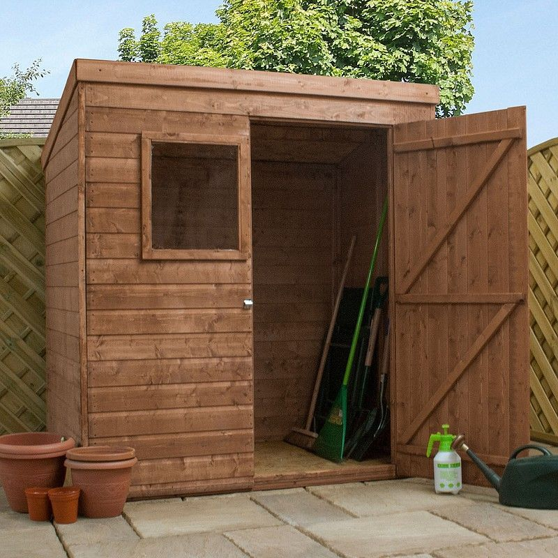 10 X 6 Treated Pent Shed Side Storage Shed Landscaping Shed Garden Shed