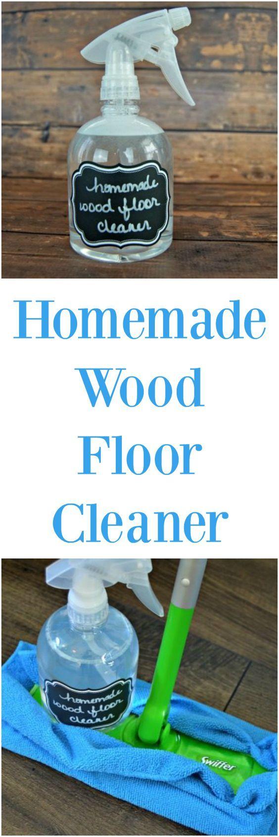 Easy Homemade Wood Floor Cleaner Homemade wood floor