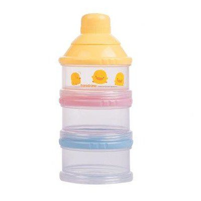 Non Spill Milk Powder Dispenser. 830369 Features: -Milk powder dispenser.-Comes with three cases, funnel cap, and two mid-caps.-Handy for outdoor or night time feedings.-Funnel cap helps pour powder without spilling.-Mid caps help to keep the powder separate.-Cases can be used later to hold snacks.