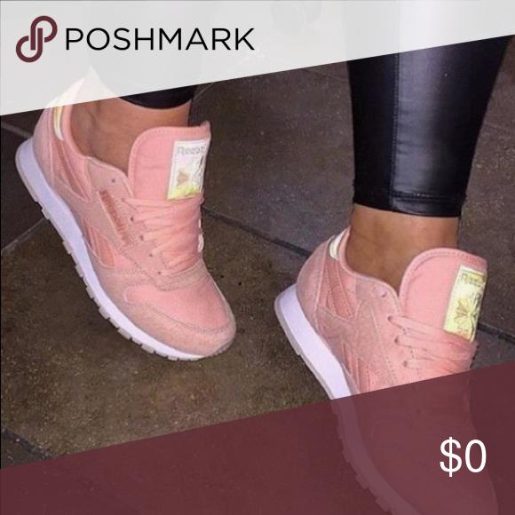 ISO Blush Pink (Suede) Reebok