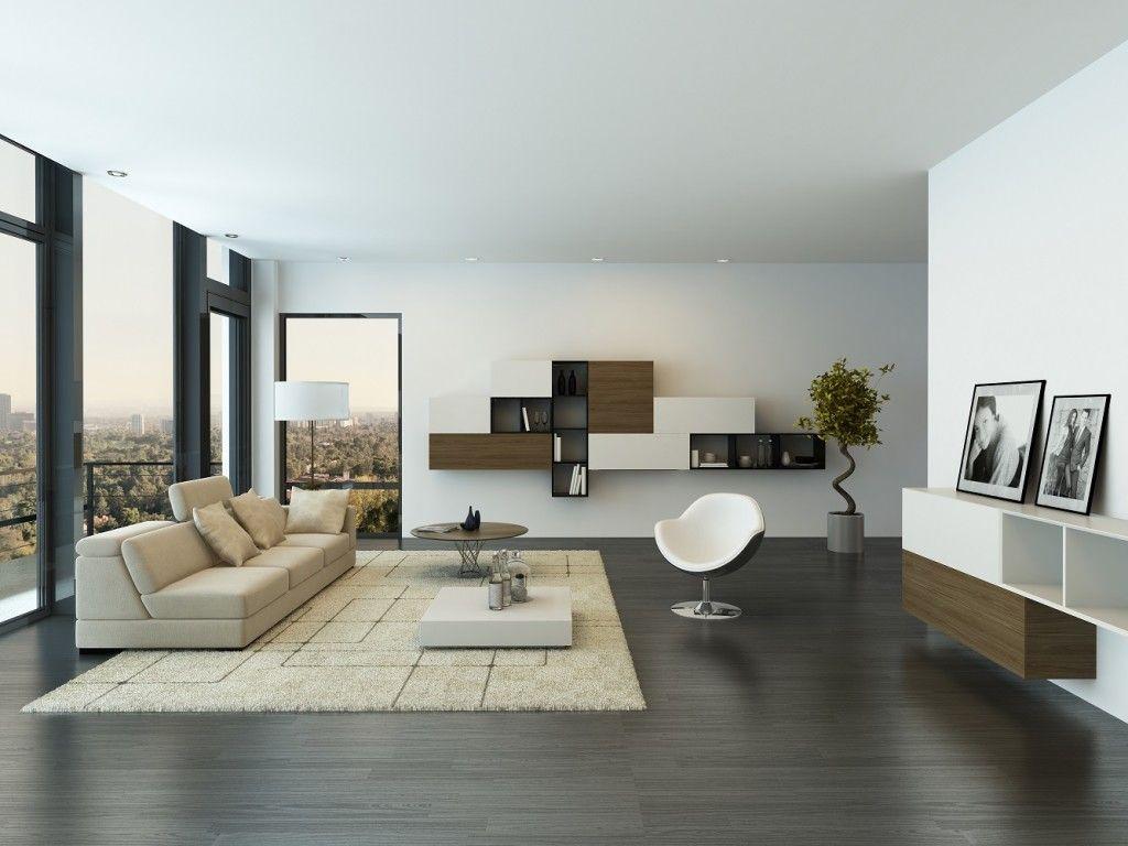 Image Result For White Floor Tiles Living Room Kitchen Design