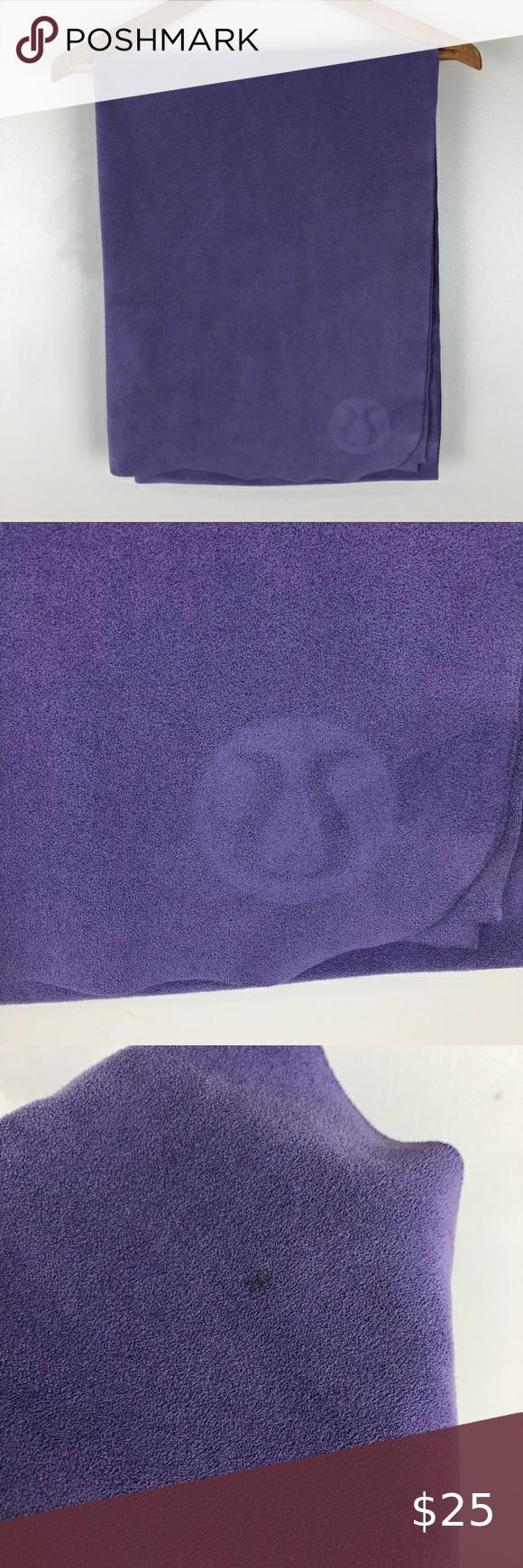 Lululemon The Towel Hot Yoga Purple Microfiber In 2020 Hot Yoga Hot Yoga Towel Yoga Towel