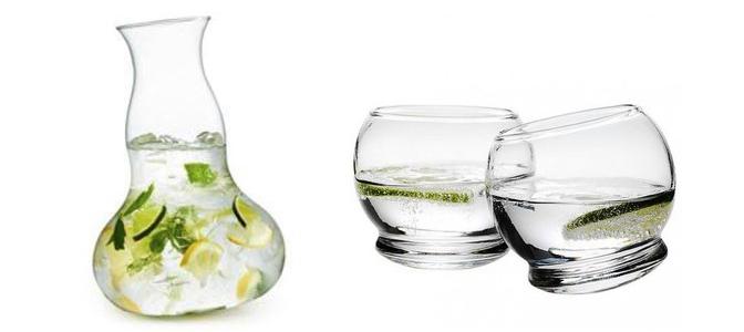 finest la caraffa di massimo lunardon in vetro soffiato design vetro arredamento design. Black Bedroom Furniture Sets. Home Design Ideas