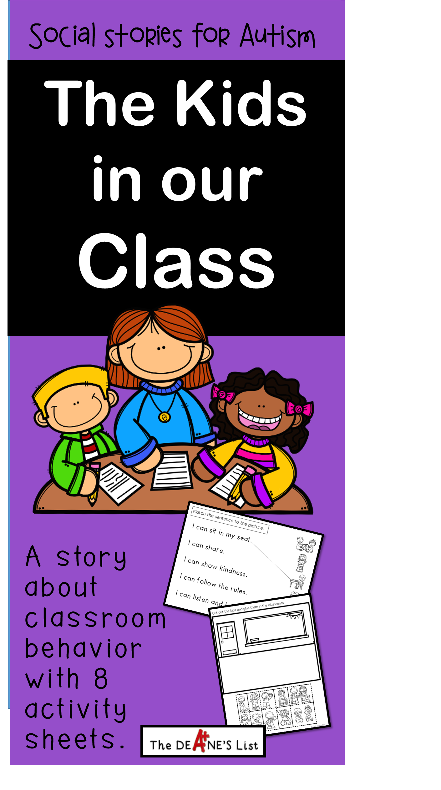 Social Skill Stories The Kids In Our Class