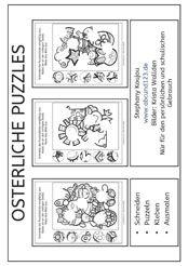 ostern puzzle ostern religion school und german. Black Bedroom Furniture Sets. Home Design Ideas