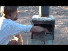 Amazing High-Powered Wood Stove Makes Crude Oil And Powers A Generator