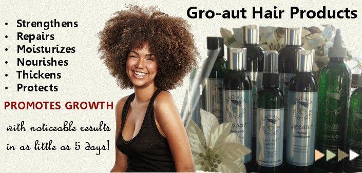 Grow Longer Stronger Hair -  Hair Regime - Gro-aut Hair Products