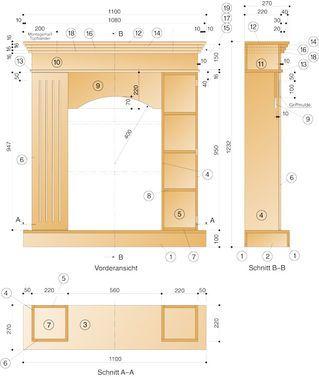Kamin-Attrappe | Künstlicher kamin, Kamin wohnzimmer und ...