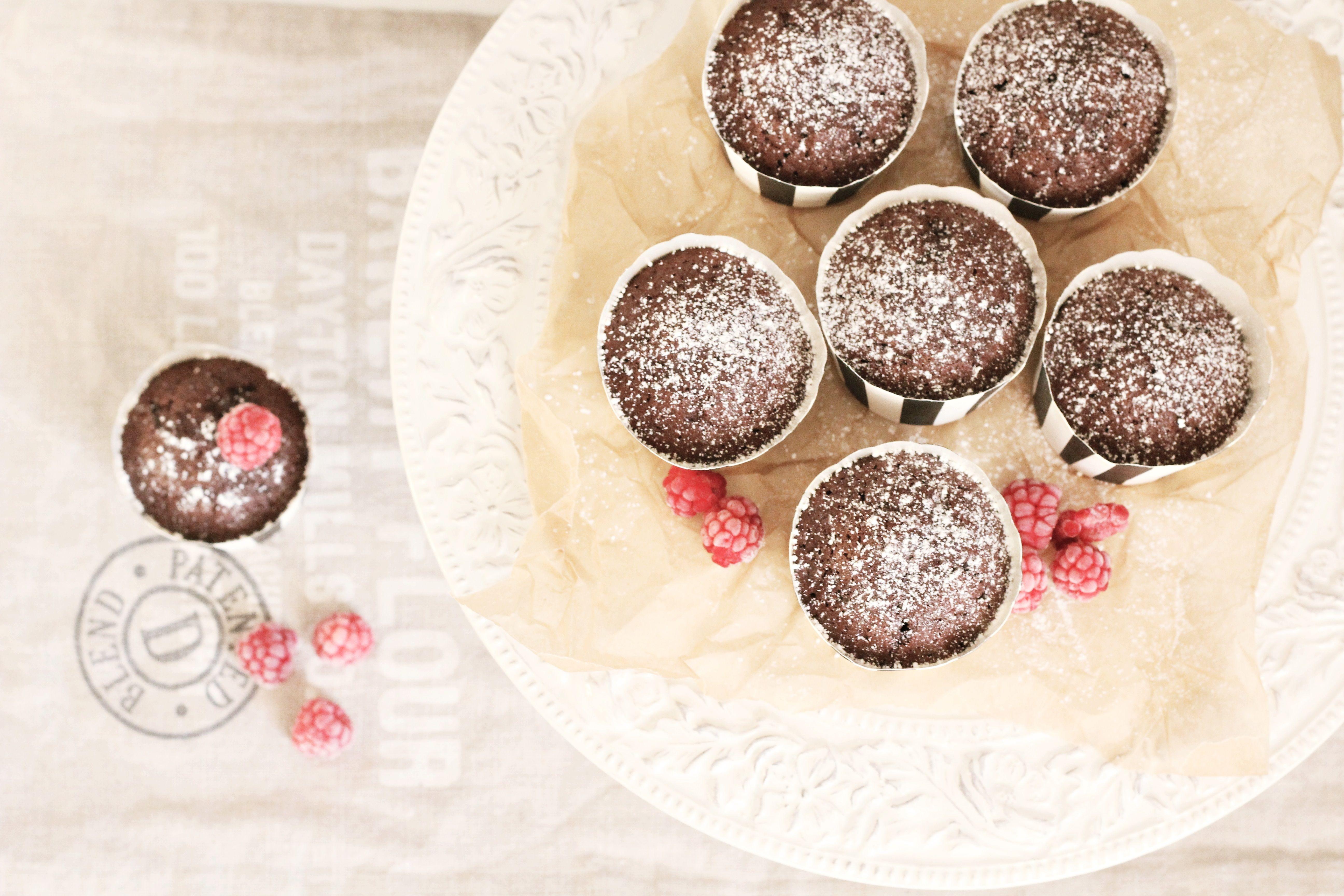 Chokladmuffins.