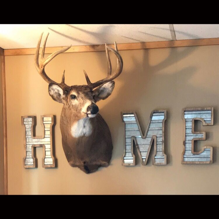 I Love This Homedecor Deer Hunting Decor Deer Decor Deer