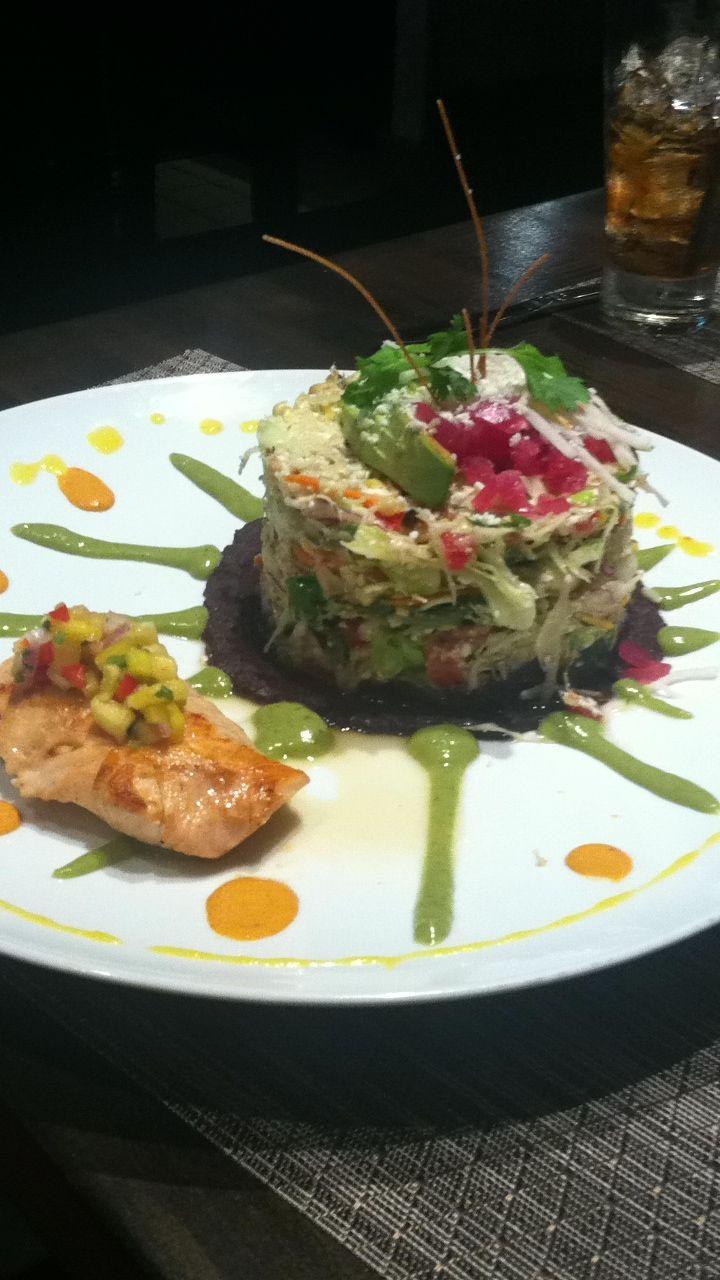 Luna Mexican Restaurant In Corona Chopped Salad Yum Food Chopped Salad Bars Recipes