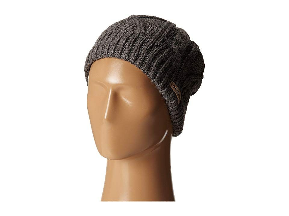 Columbia Cabled Cutietm Beanie (Charcoal Heather 2) Beanies. Stay toasty  warm this holiday c7c815023b2
