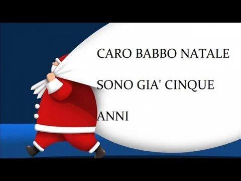 Amico Stella Canzone Di Natale.Caro Babbo Natale Canzoni Natalizie Con Testo Youtube Babbo Natale Canzoni Per Bambini Natale