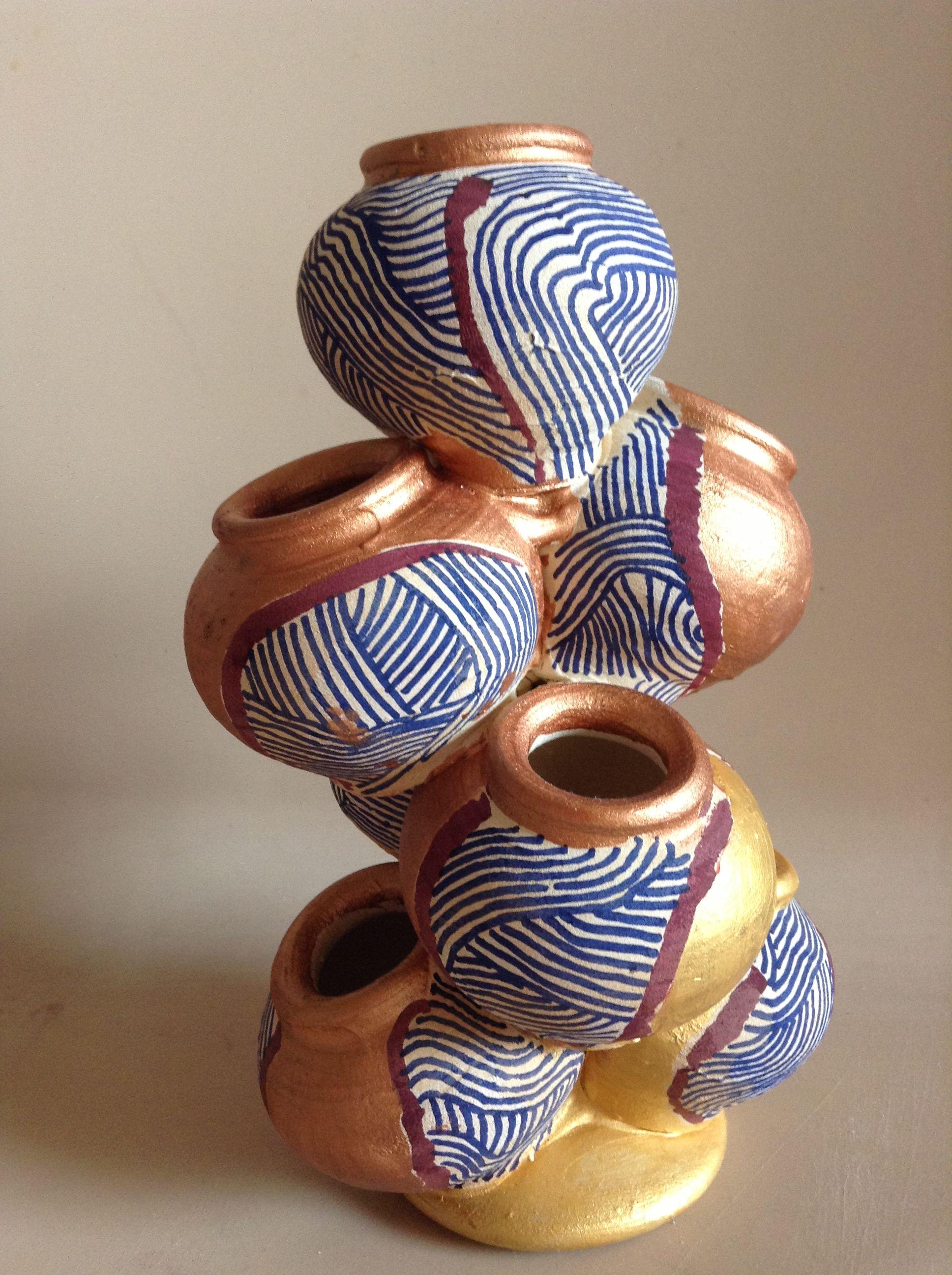 Matli Earthen Pots Abstract 2 Saanchi Arts Pinterest Craft Clay And Creative
