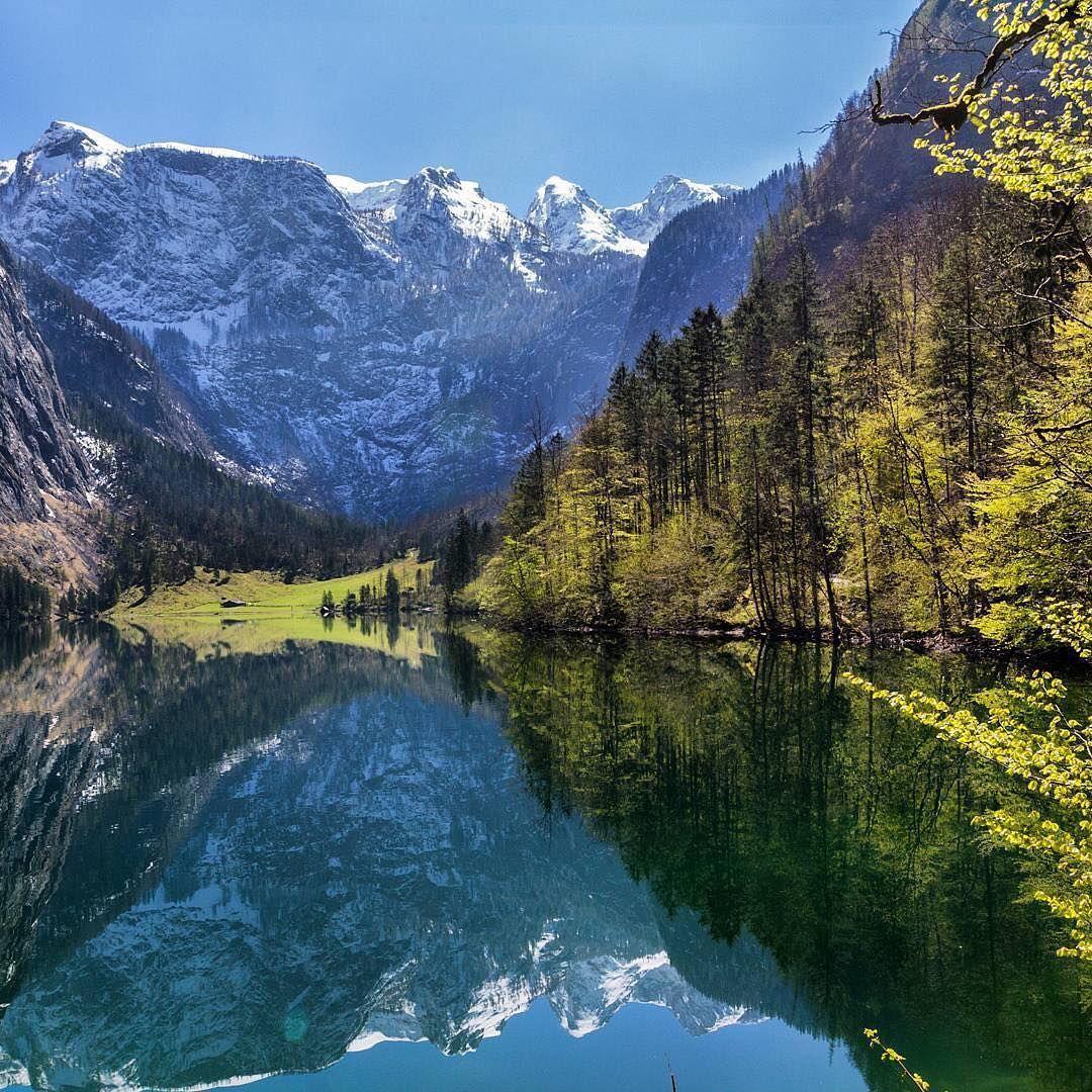 Oberbayern Konigssee Von Salet Zur Fischunkelalm Am Obersee Urlaub Berchtesgaden Oberer See Urlaub Bayern
