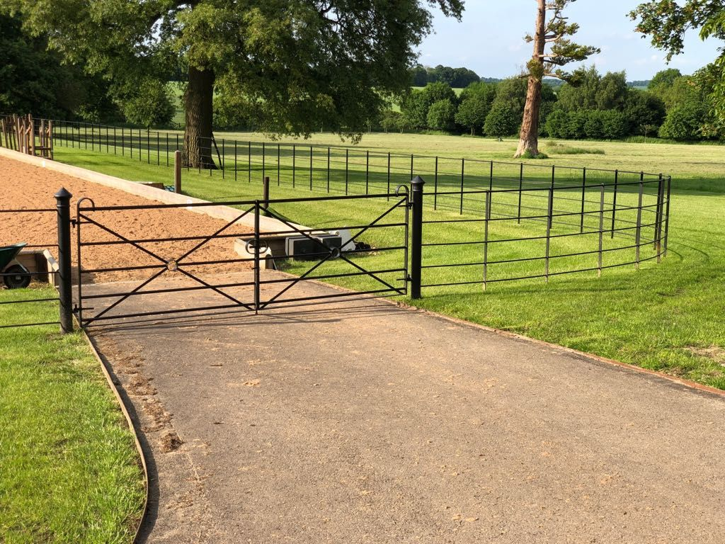 Estate Fencing Metal Estate Railings From 14 50 Per Metre