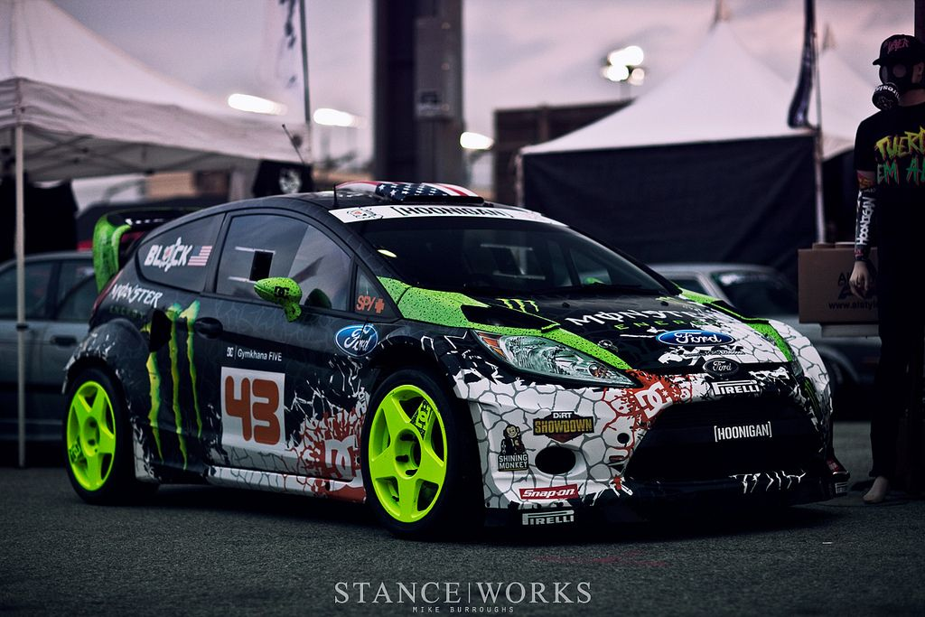 Ken Block Ford Fiesta With Images Rally Car Design Rally Car