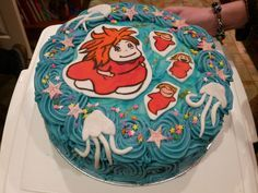 Image result for ponyo cake