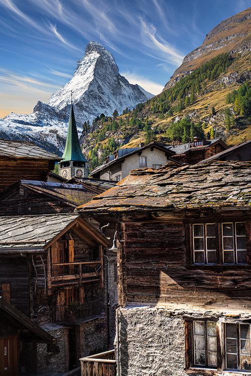 Clocks Around The World Zermatt Switzerland Daniel Metz Paysage Montagne Voyage Suisse Cervin