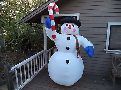 Trim A Home 84 Foot Tall Giant Snowman Lighted Outdoor Christmas