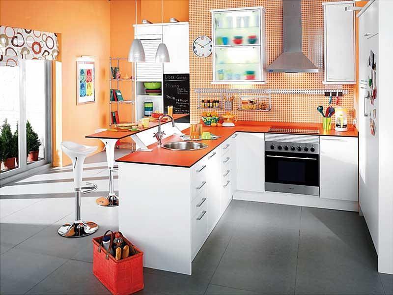 CASAS AMP TE DICE ¿Qué cocina puedo darle un toque alegre a mi casa ...