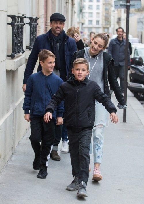Patrickdempseyfamilyallsmilesinfrance Celebrities In 2019