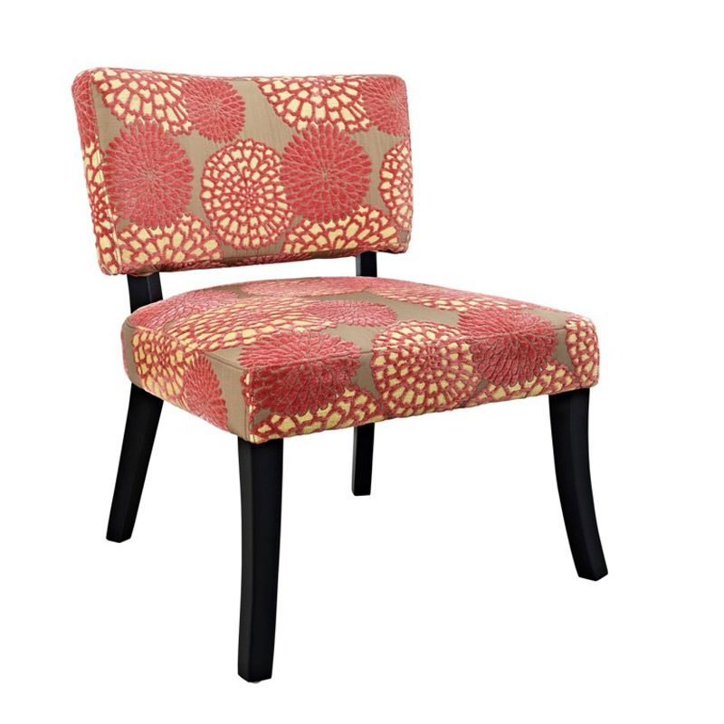This Floral Accent Chair Is Rocking Pantone S Spring 2016