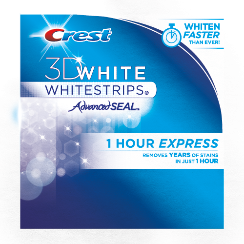 photograph regarding Crest White Strips Coupon Printable known as Crest 3D White Whitestrips 1 Hour Specific La Beauté