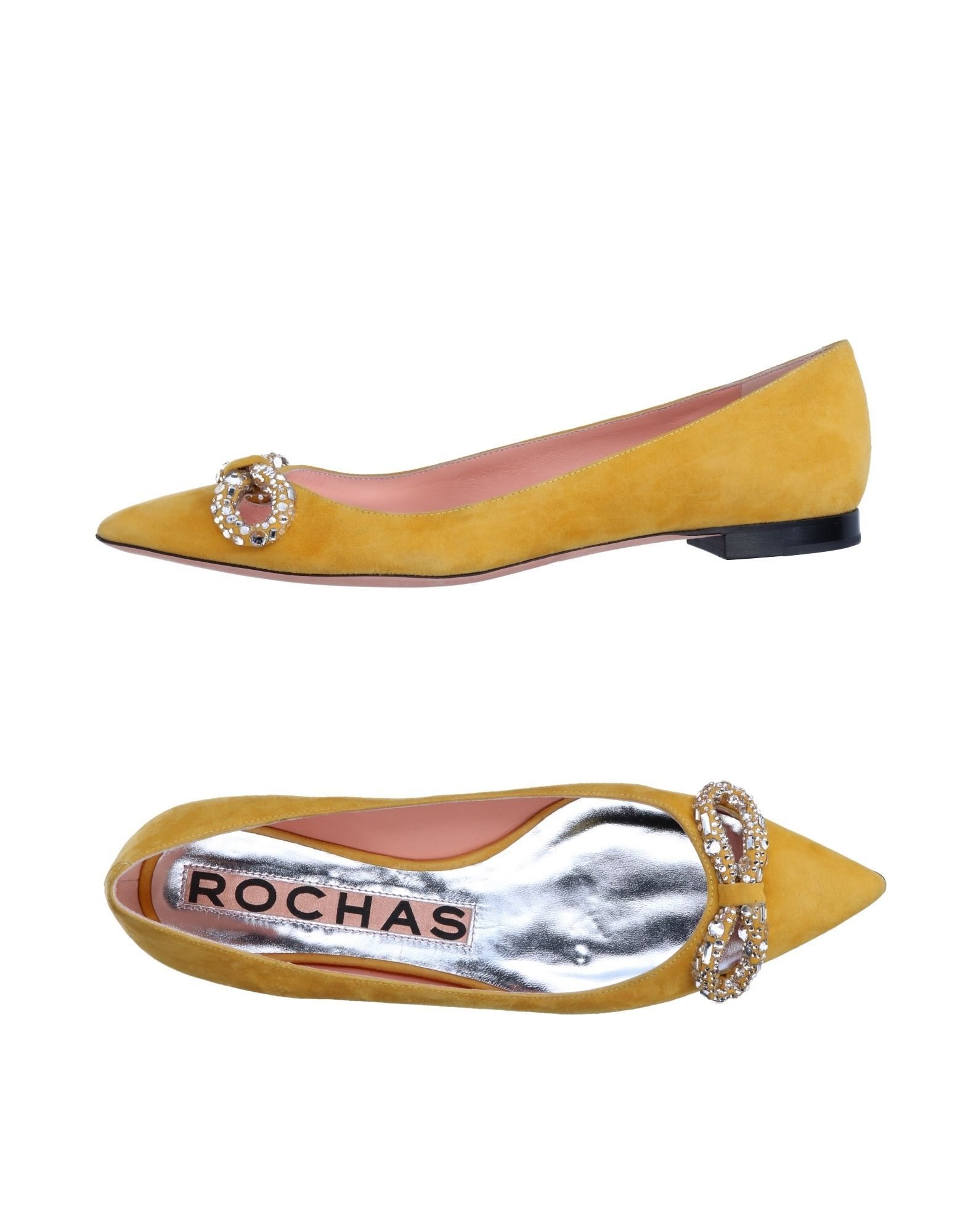 dc84b25a7582 ... Exclusive Items Italian And International Rochas Women Ballet Flats On  Yoox The Best Online Selection Of