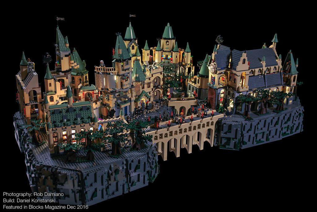Blocks Mag Harry Potter Hogwarts 01 Lego Hogwarts Lego Harry Potter Moc Lego
