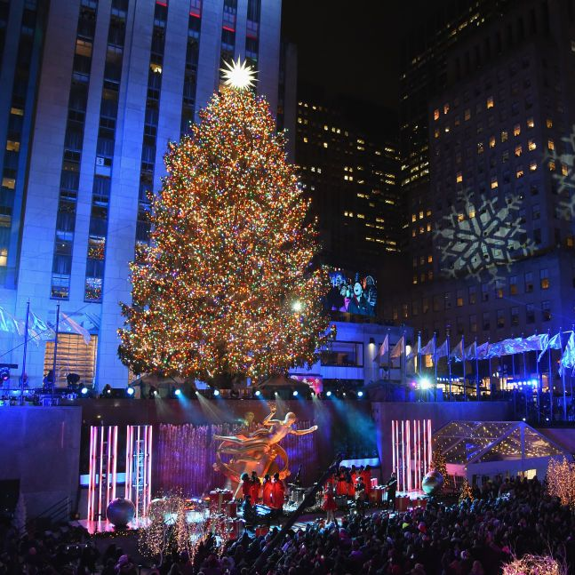 The Rockefeller Christmas Tree Will Feature More Than
