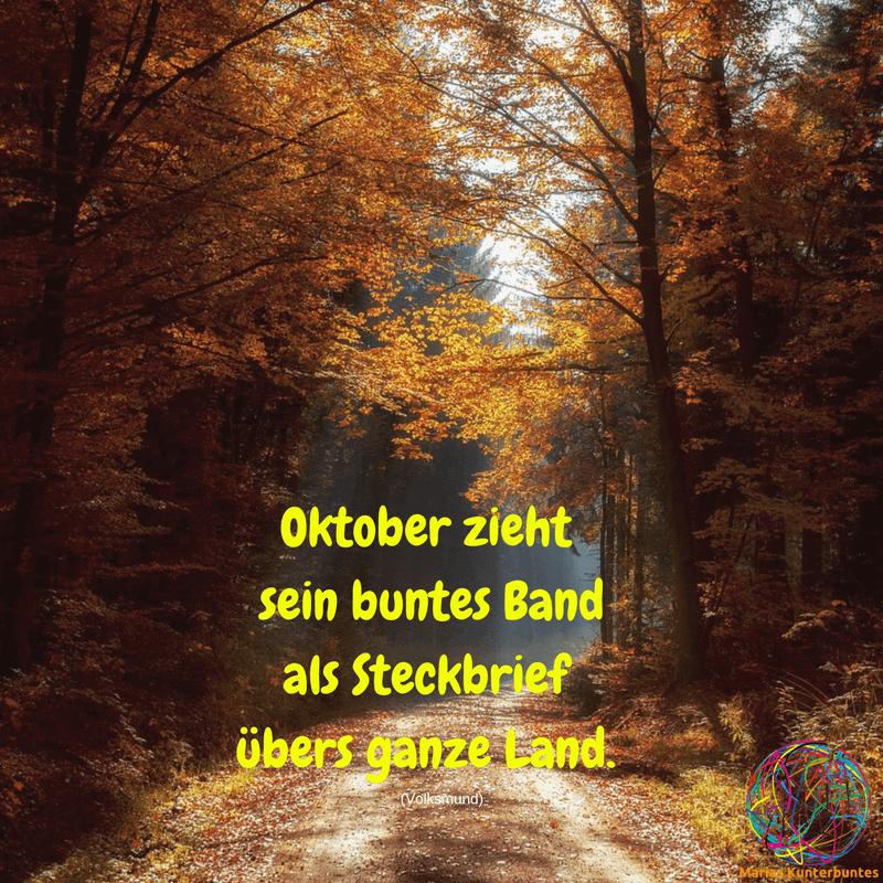 SprГјche Oktober