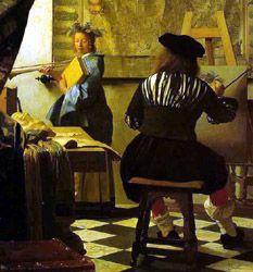 Johannes Vermeer The Artist In His Studio Is One Of The