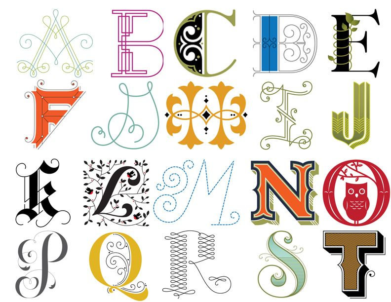 Creative Letters a creative alphabet | alphabet art and fonts