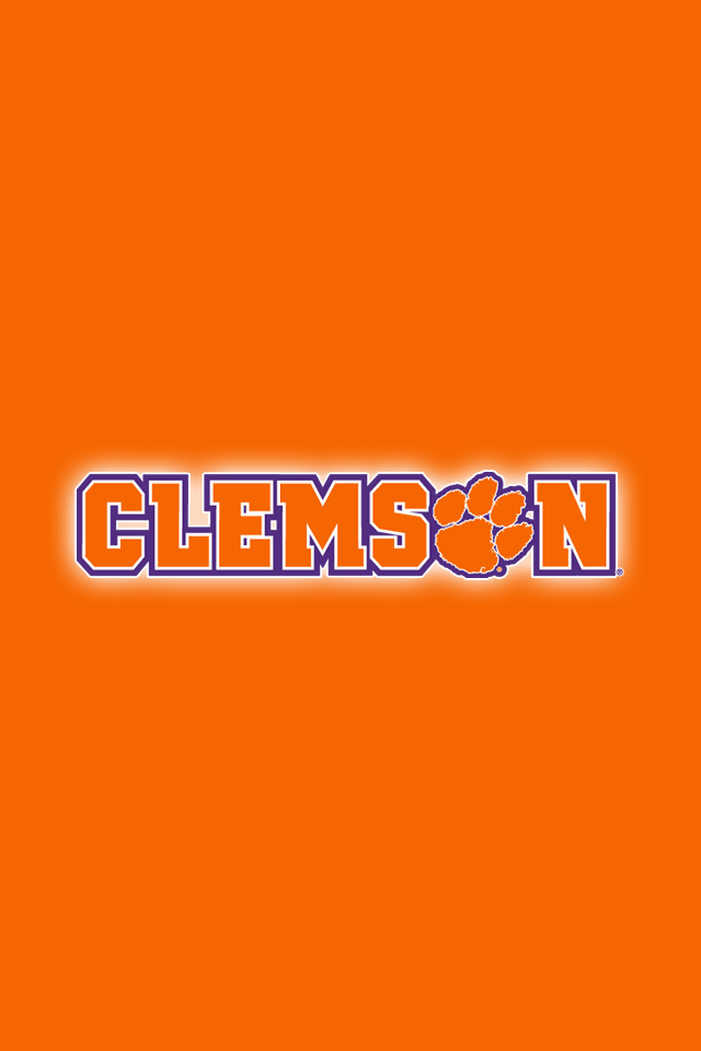 Set Of 24 Clemson Tigers Iphone Wallpapers Clemson Wallpaper Clemson Tigers Wallpaper Clemson Tigers Football