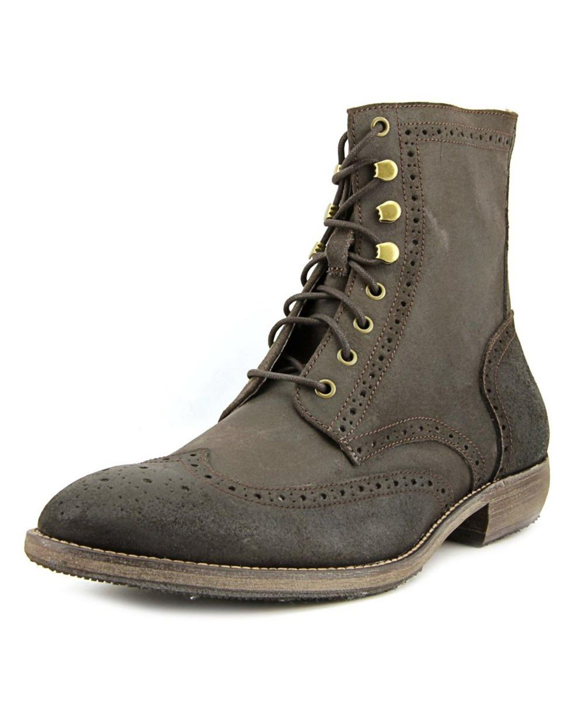 ANDREW MARC ANDREW MARC HILLCREST WINGTIP TOE LEATHER BOOT'. #andrewmarc # shoes #