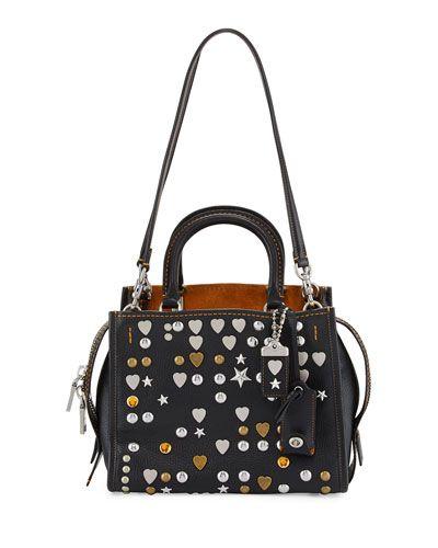 c8359c65df Rogue 25 Studded Leather Shoulder Bag