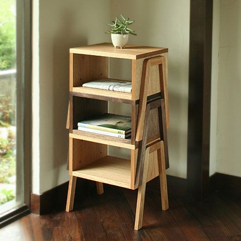 stackable side tables - could be useful for entertaining