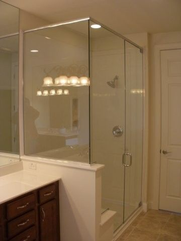 Specializing In Heavy Glass Shower Doors And Steam Enclosures. Description  From Suphome.net.