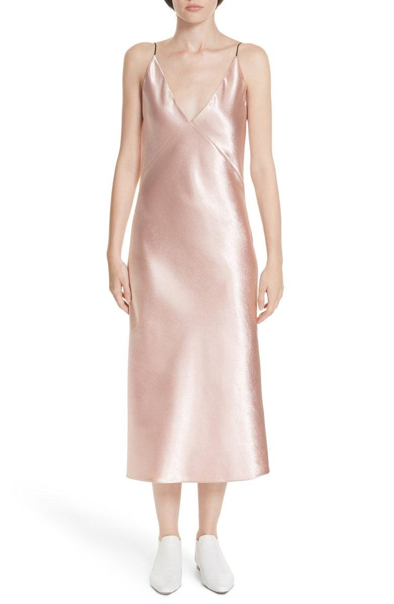 e265cd02258f V-neck Bias Cut Dress, Main, color, BLUSH   My Style   Bias cut ...